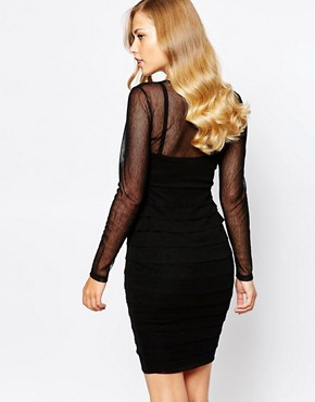 photo Claudia Dress in Black by Body Frock, color Black - Image 2