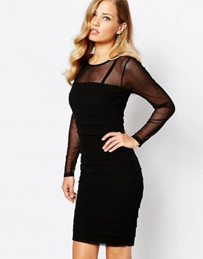 photo Claudia Dress in Black by Body Frock, color Black - Image 1