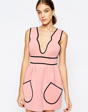 photo Cloudbursting Dress in Ballet Pink by Alice McCall, color Ballet - Image 1