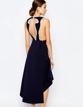 photo Soul Vendour Midi Dress in Midnight by Alice McCall, color Midnight - Image 2