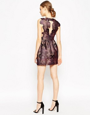 photo Grace Like Rain Dress in Plum by Alice McCall, color Plum - Image 2