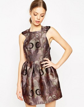 photo Grace Like Rain Dress in Plum by Alice McCall, color Plum - Image 1