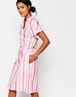 photo Plastic Bag Dress in Candy Stripe by Paul by Paul Smith, color Multi - Image 1