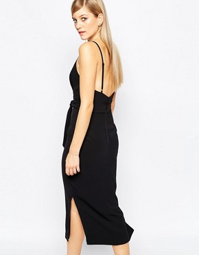 photo Blow Your Mind Midi Dress by Finders Keepers, color Black - Image 2