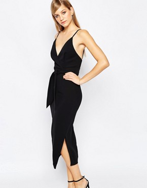 photo Blow Your Mind Midi Dress by Finders Keepers, color Black - Image 1