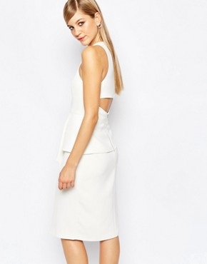 photo Lonely Hour Origami Dress by Finders Keepers, color White - Image 2