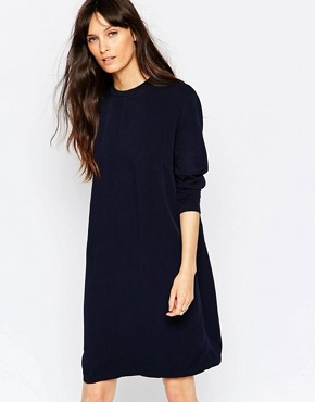 photo Cosa Shift Dress in Blue by Just Female, color Blue - Image 1