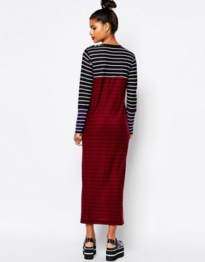 photo Knitted Maxi Dress in Stripe by Sonia by Sonia Rykiel, color Multi - Image 2