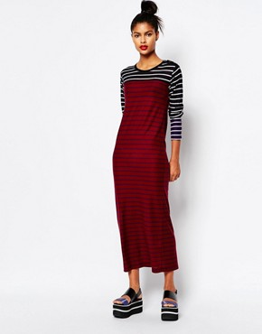 photo Knitted Maxi Dress in Stripe by Sonia by Sonia Rykiel, color Multi - Image 1
