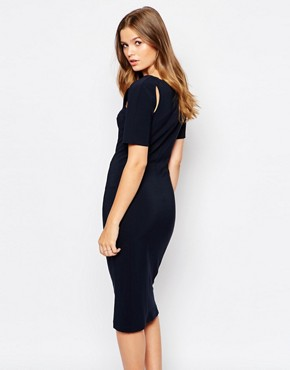 photo A Line Midi Dress by Twin Sister, color Navy - Image 2
