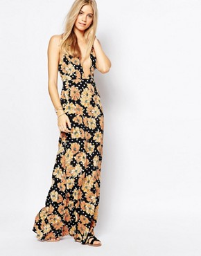photo Maxi Dress in Tiger Paws by Flynn Skye, color Tiger Paws - Image 1