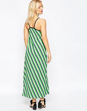 photo Midi Slip Dress by House of Holland, color Green - Image 2