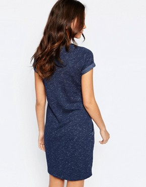 photo Sweat Dress by Esprit, color Navy - Image 2