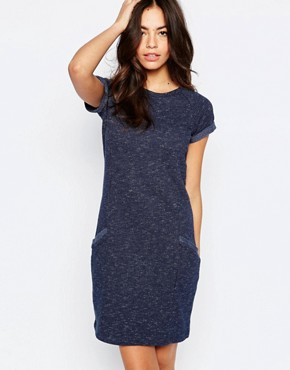 photo Sweat Dress by Esprit, color Navy - Image 1
