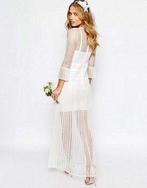 photo Bridal Bluebell Dress by Body Frock, color Ivory - Image 2