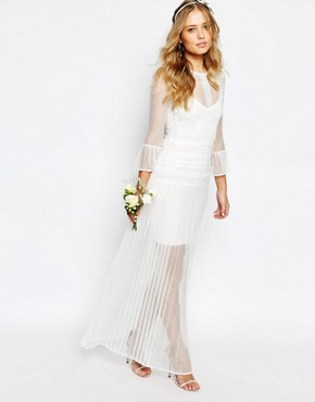 photo Bridal Bluebell Dress by Body Frock, color Ivory - Image 1