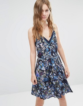 photo Magnolia Dress by Greylin, color Navy - Image 1