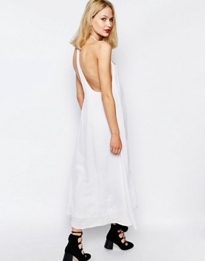 photo Bima Embroidered Maxi Dress by Piper, color White - Image 2