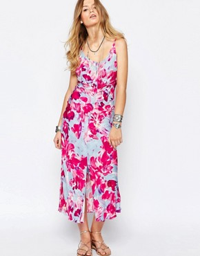 photo Bright Floral Maxi Dress by Somedays Lovin, color Multi - Image 1