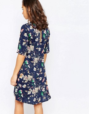 photo Print Tea Dress by Vero Moda Petite, color Print - Image 2