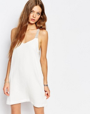 photo Sun Strap Dress in Cream by Suncoo, color Cream - Image 1
