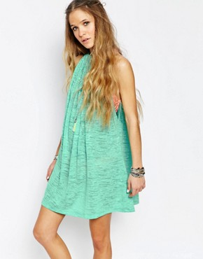 photo Halter Beach Dress by Pitusa, color Mint - Image 1