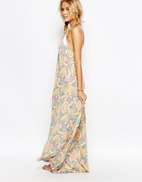 photo Banana Beach Dress by Wildfox, color Multi - Image 2