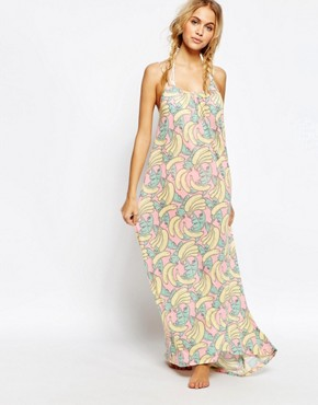 photo Banana Beach Dress by Wildfox, color Multi - Image 1