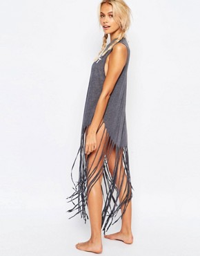 photo Coconut Beach Dress by Wildfox, color Black - Image 2