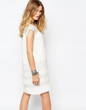 photo Fally Dress in White by Gat Rimon, color White - Image 2