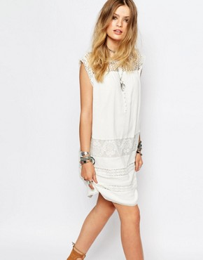 photo Fally Dress in White by Gat Rimon, color White - Image 1