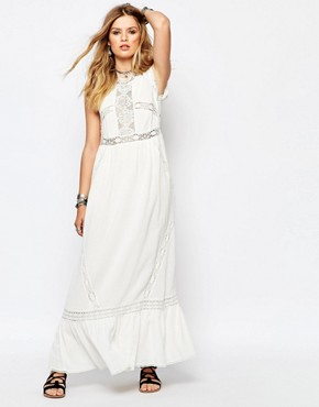 photo Careless Maxi Dress in White by Gat Rimon, color White - Image 1