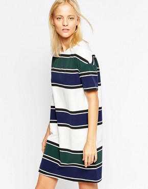 photo Adelaide Stripe Dress by Wood Wood, color Stripe - Image 1