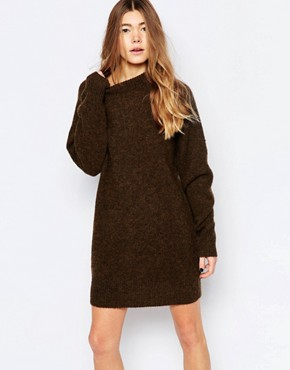photo Rosa Jumper Dress by Wood Wood, color Firewood - Image 1
