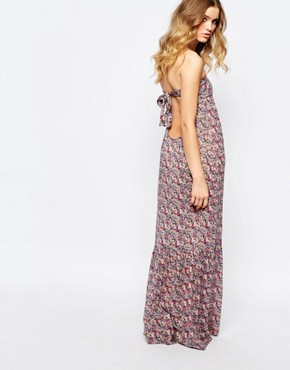 photo Emelle Maxi Dress with Open Back by BA&SH, color Rose - Image 2