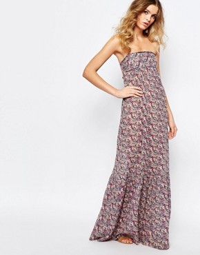 photo Emelle Maxi Dress with Open Back by BA&SH, color Rose - Image 1