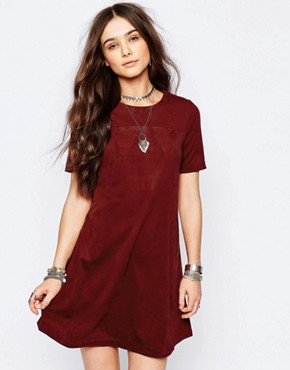 photo T-Shirt Swing Dress by Pimkie, color Red - Image 1