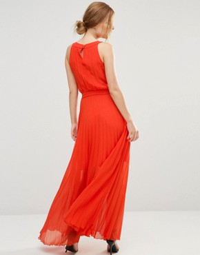photo Sonoma Maxi Dress with Cut Out Back by Jovonna, color Orange - Image 2