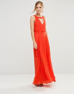 photo Sonoma Maxi Dress with Cut Out Back by Jovonna, color Orange - Image 1