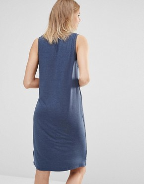 photo Feels So Good Dress in Navy by The Fifth, color Navy - Image 2