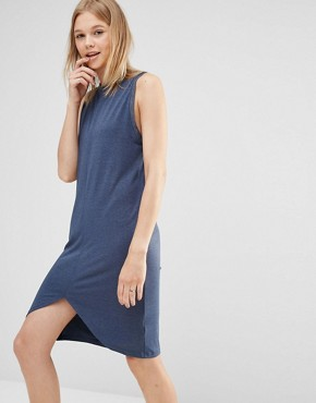 photo Feels So Good Dress in Navy by The Fifth, color Navy - Image 1
