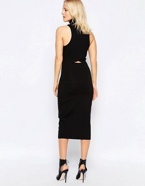 photo White Light Dress in Black by The Fifth, color Black - Image 2