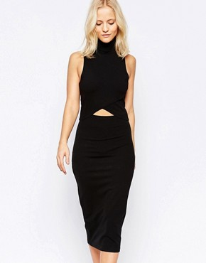 photo White Light Dress in Black by The Fifth, color Black - Image 1