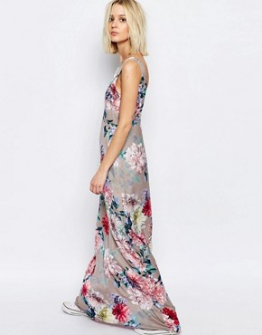 photo Botanical Floral Yang Maxi Dress by Every Cloud, color Multi - Image 2