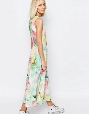 photo Machina Floral Grace Maxi Dress by Every Cloud, color Multi - Image 2