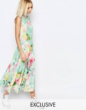 photo Machina Floral Grace Maxi Dress by Every Cloud, color Multi - Image 1