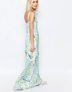 photo Segmented Lily Raia Maxi Dress by Every Cloud, color Multi - Image 2