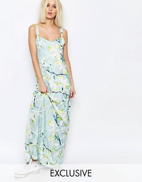 photo Segmented Lily Raia Maxi Dress by Every Cloud, color Multi - Image 1