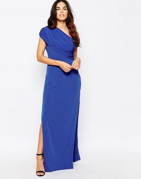 0b76150b59 Willow One Shoulder Maxi Dress by Hedonia - Blue