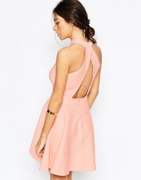 photo I'm New Here Dress in Pink by C/meo Collective, color Pink - Image 2